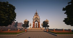 WIP, memorial square Minecraft Map & Project