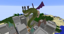 Trogdor the Burninator Minecraft Map & Project