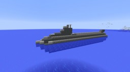 Small Submarine - Fictional [Full Interior] Minecraft Map & Project