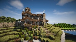 Spanish House Minecraft Map & Project