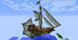 Fantasy Flying Boat Minecraft