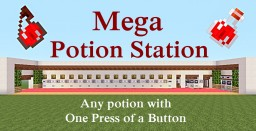 Minecraft Tutorial : Mega Potion Station Minecraft Map & Project
