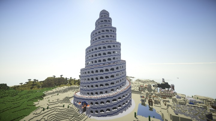 Spiral Tower Minecraft : Spiral tower of babel mk minecraft project