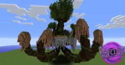 Faction spawn built by the VortexBuildTeam Minecraft