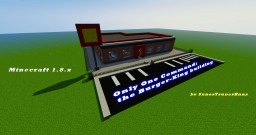 BurgerKing building - only one command - Minecraft 1.8.x