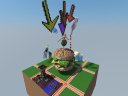 Double Cheeseburger Plot Minecraft Map & Project