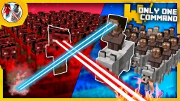 Clay Soldiers Wars - Clay soldiers mod in vanilla with only one command block Minecraft Project