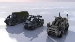 3:1 scale Military Vehicles Minecraft