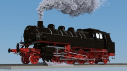 DRG Class 86 - Steam Locomotive Minecraft Map & Project