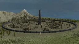 Minecraft Middle-Earth Isengard. Изенгард в Майнкрафт Minecraft Project
