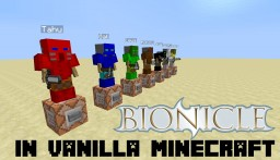 Bionicle in vanilla minecraft! Minecraft