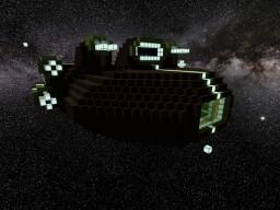 MIDGARD-CLASS Gunship Minecraft Map & Project
