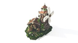 Fantasy/Medieval Buildings Pack