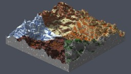 Mesa styles palette Minecraft Map & Project