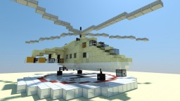 MIL MI 24 HIND D Minecraft Map & Project