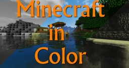 MINECRAFT IN COLOR ! - Short Film Minecraft Map & Project