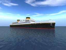 MV Balearic Minecraft