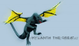 Mylanth the Great - Organic Dragon Minecraft Map & Project