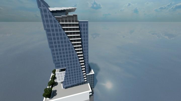 Polaris Skyscraper 25 Minecraft Project