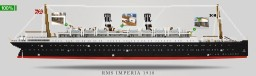 RMS Imperia 1918 by SunCraft Minecraft