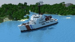 USCGC WMEC Reliance Class Minecraft Map & Project