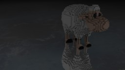 Simple sheep (Organic) Minecraft