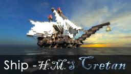 Ship: H.M.S - Cretan Minecraft Map & Project