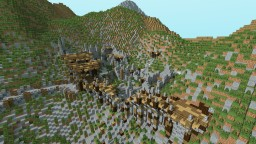 Medieval ruined outpost Minecraft Map & Project