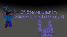 Steve in SSB4 prediction! Minecraft Blog