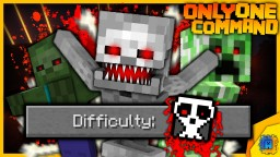 New Difficulty: HELL in only one command! Minecraft Map & Project