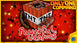 Powerful Weapons in only one command! Minecraft
