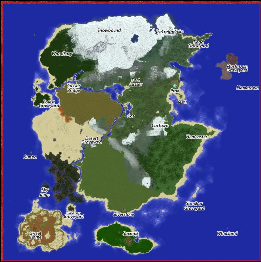 how to add custom map to server