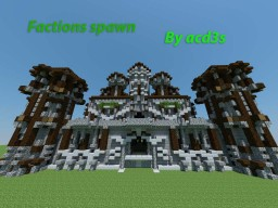 Medieval factions castle [download] Minecraft Map & Project