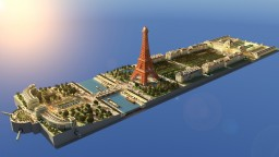 Paris - Eiffel Tower Minecraft Map & Project