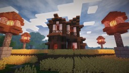 Medieval Farmhouse Minecraft Project