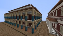 Roman insula Minecraft Map & Project