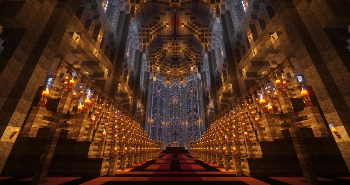 Choir, altar and eastern windows
