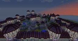 Purple city Minecraft Map & Project