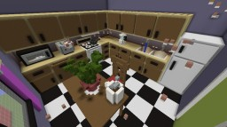 Kitchen Parkour Minecraft Map & Project