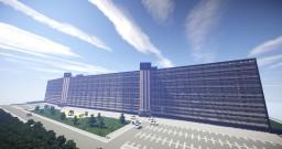 big Dutch apartment block - Pharus Minecraft Zaandam Minecraft Project