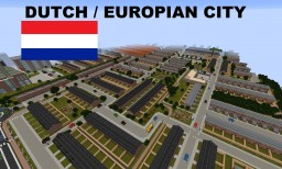 Big Modern Dutch Europian city - Download Minecraft Project
