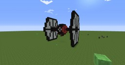Special Forces Tie Fighter (STAR WARS THE FORCE AWAKENS) Minecraft Map & Project