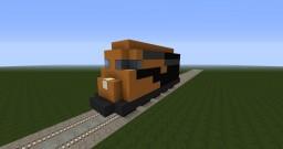Cargo Train Engine Minecraft Map & Project