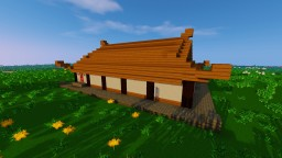 Small japanese house Minecraft Project