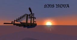 HMS Nova Minecraft Map & Project