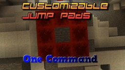 Completely Customizable Jump Pads In One Command Minecraft Project
