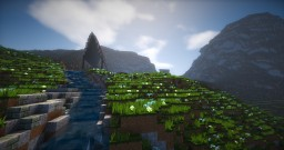 Unique Voxel Island Town Minecraft Map & Project