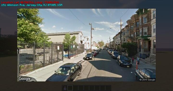 Streetview GUI