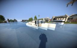 Vehicle-Speedboat Minecraft Map & Project