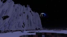Massive 20k X 20k Custom Space Map Minecraft Project
